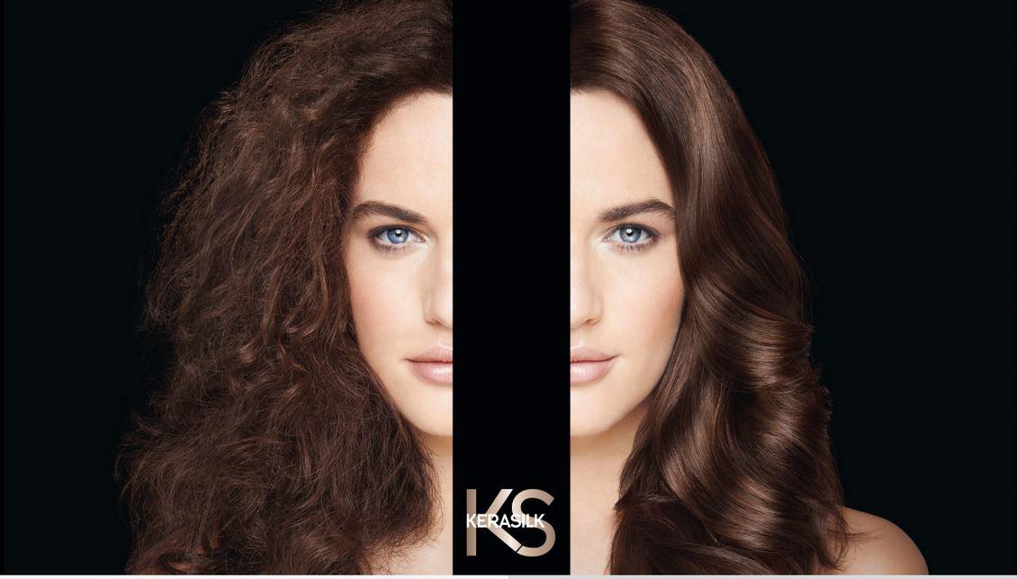 goldwell kerasilk hair smoothing, canterbury hair salon, kings hill hair salon