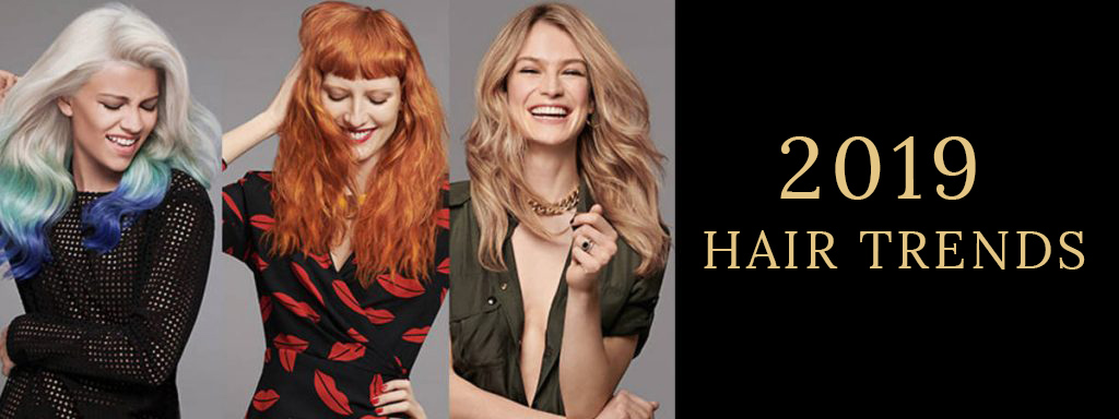 2019 HAIR TRENDS  at Stone Hairdressing, Canterbury