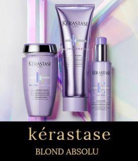 Kérastase Blond Absolu – new blonde hair care range at stone hairdressing