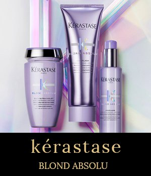 Kérastase Blond Absolu – new blonde hair care range at stone hairdressing