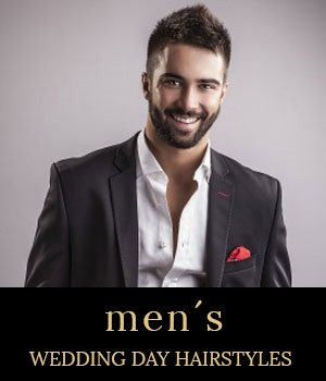 men's wedding day hairstyles