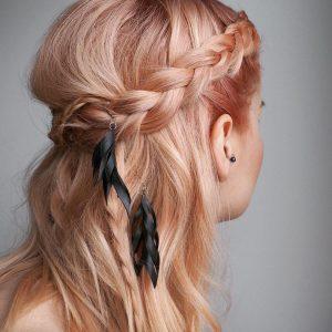 Coral Hair Colour