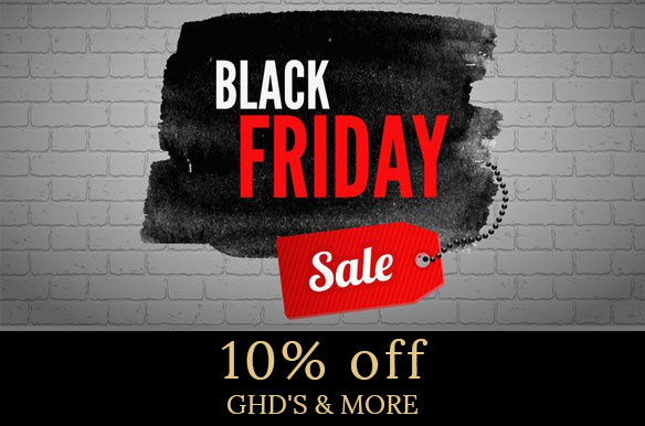 10 off ghds more banner