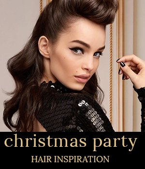 office to oh la la: christmas party hairstyle ideas