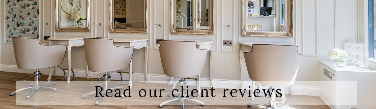 read our client reviews banner