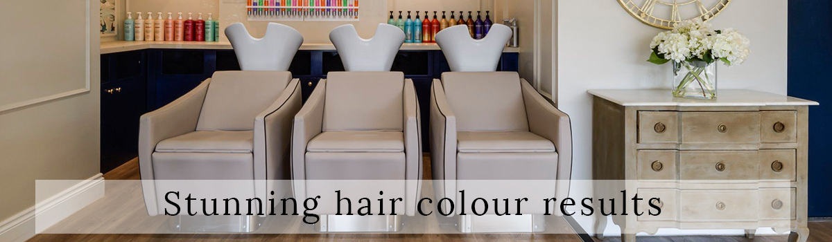 stunning hair colour results banner