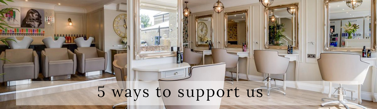 5 ways to show your support
