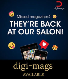 contact-free magazines now available in salon