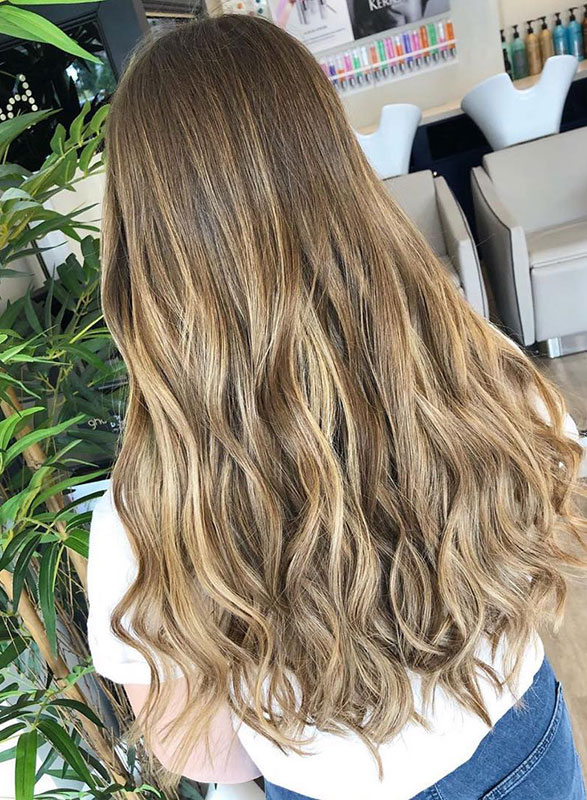 balayage hair colour at stone hairdressing salons in Kings Hill & Canterbury