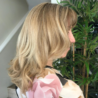 Jo at stone hairdressing salons in Canterbury & Kings Hi